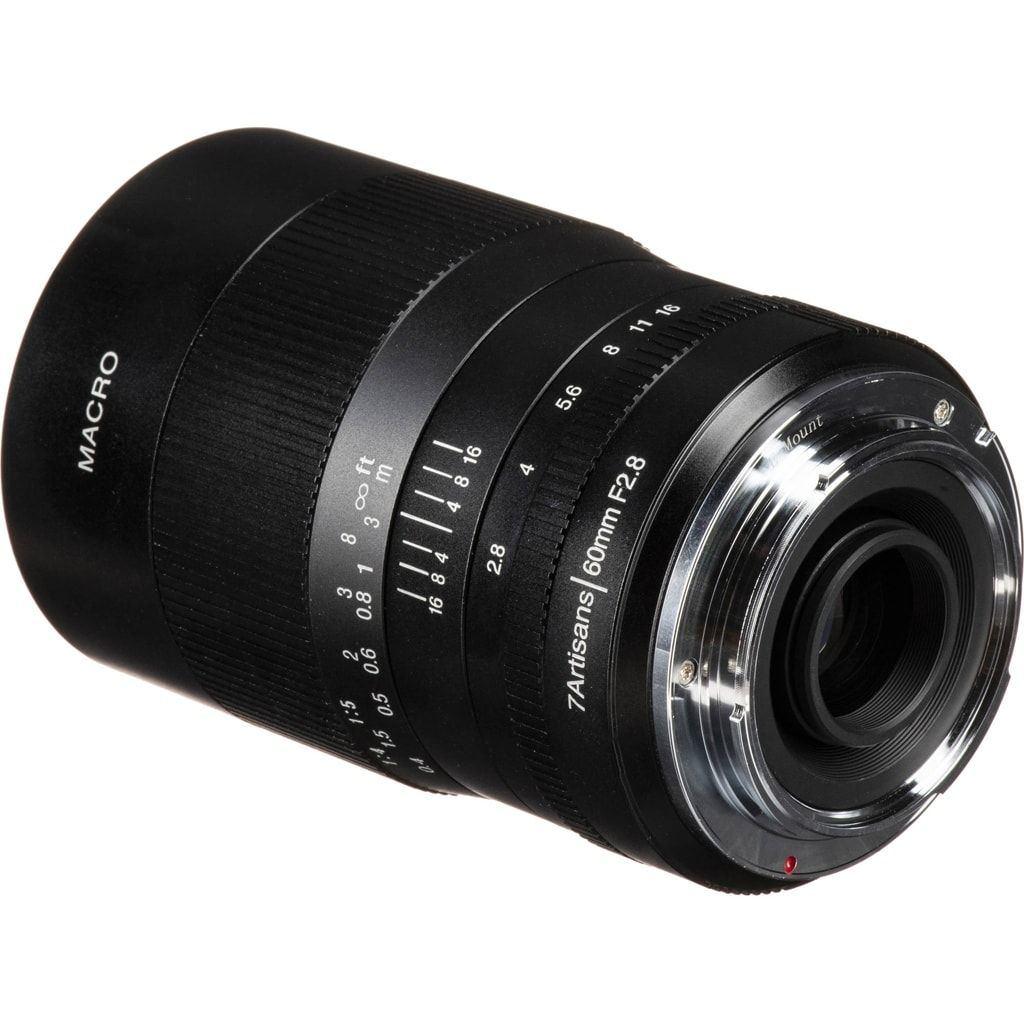 7Artisans 60mm 1:2,8 Macro für Sony E schwarz