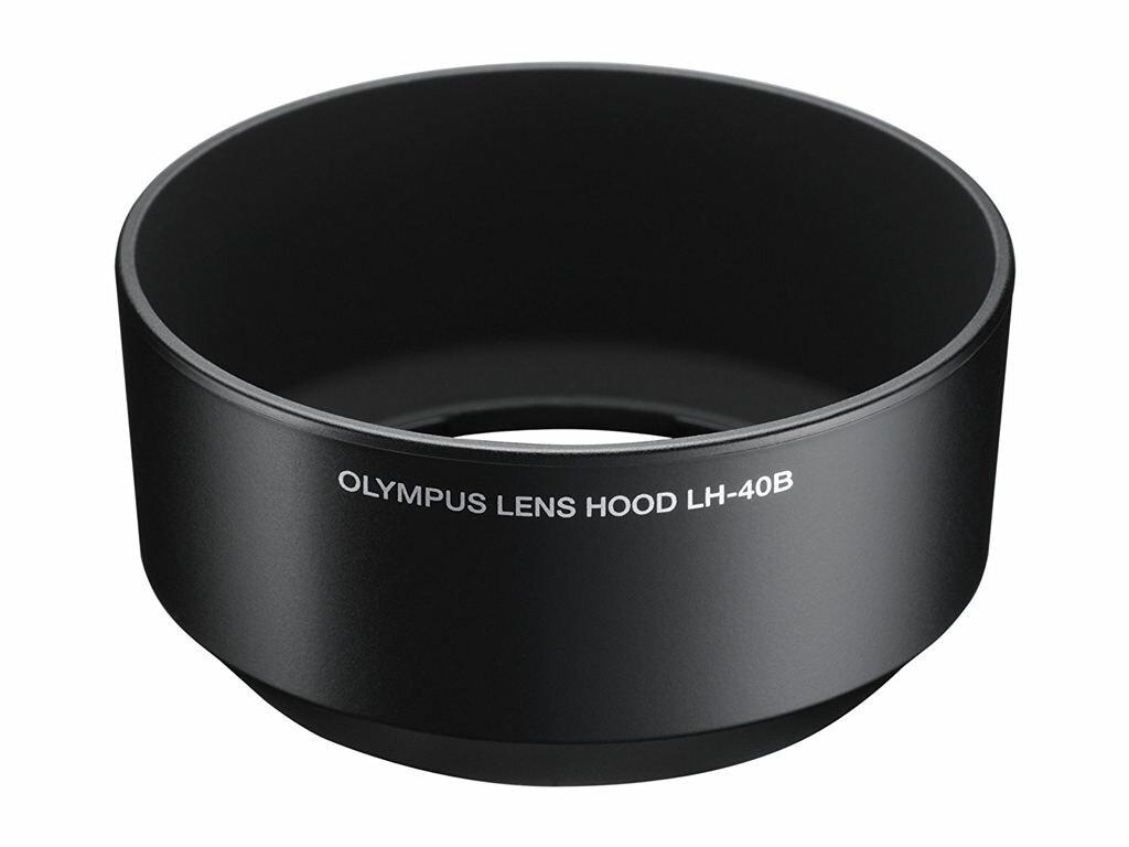 Olympus Gegenlichtblende LH-40B schwarz für 45mm 1:1,8