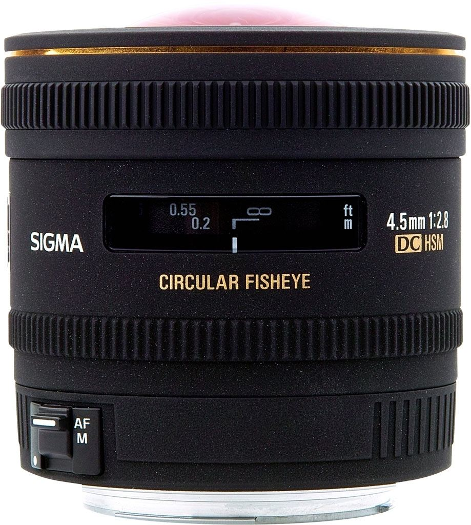 Sigma 4,5mm 1:2,8 EX DC HSM Zirkular-Fisheye für Nikon