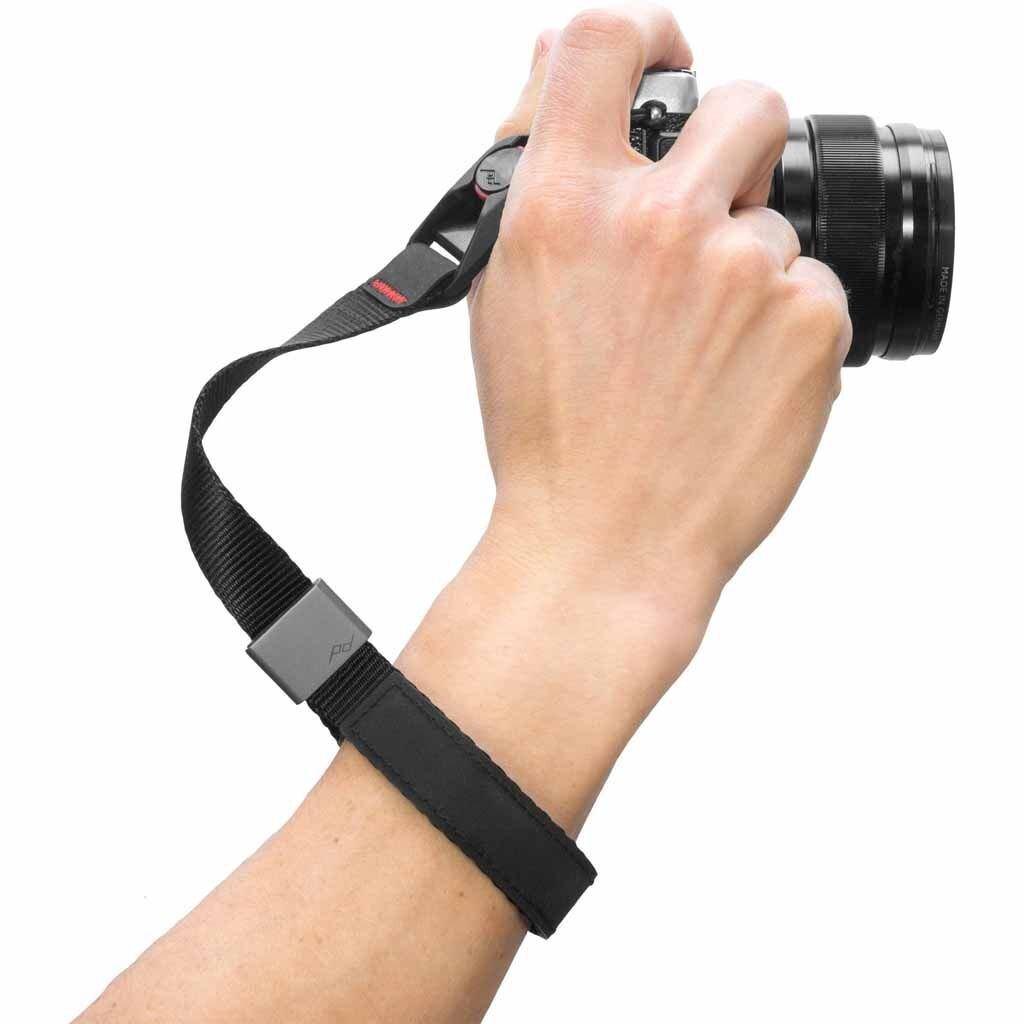 Peak Design Cuff Black Handschlaufe (Handgelenkschlaufe)