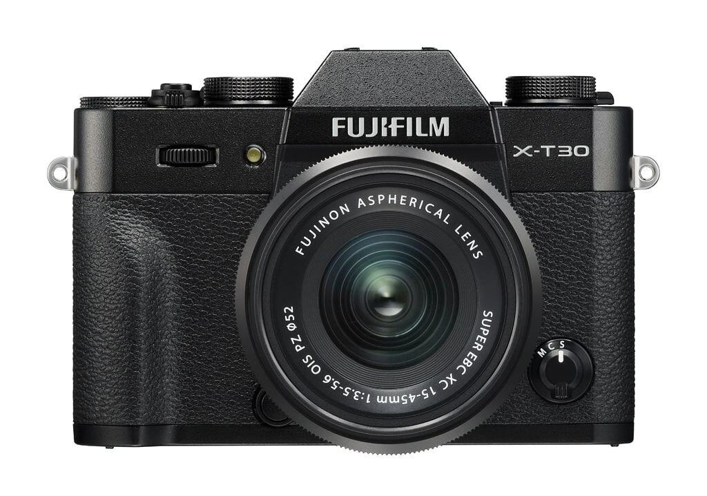 Fujifilm X-T30 schwarz inkl. XC 15-45mm 1:3,5-5,6 OIS PZ