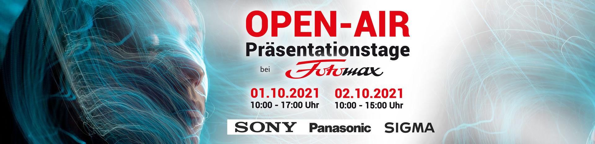 Open Air Fotomax Oktober 01.10.2021 und 02.10.2021