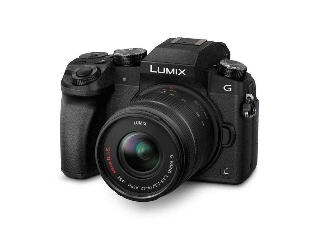 Panasonic LUMIX DMC-G70 inkl. 14-42mm 1:3,5-5,6 G Vario Mega OIS