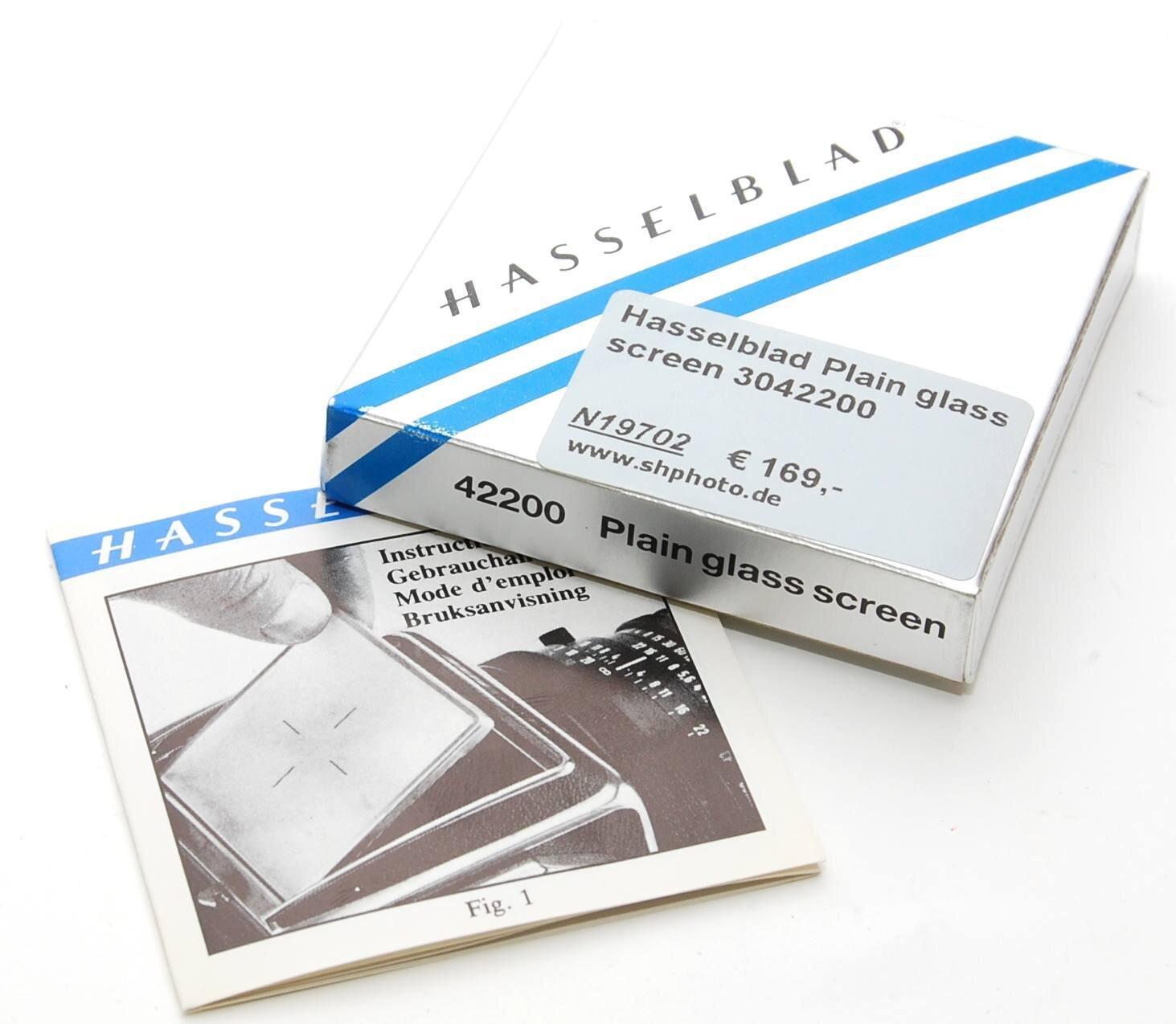Hasselblad Plain glass screen 3042200