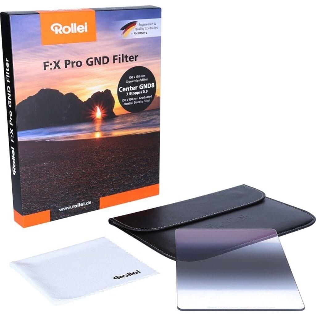 Rollei F:X Pro Center GND8 Grauverlaufsfilter 100mm Rechteckfilter