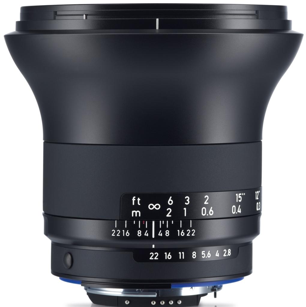 ZEISS Milvus 21mm 1:2,8 ZF.2 f. Nikon