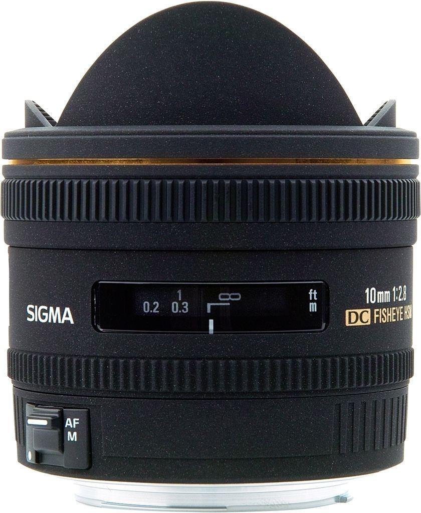 Sigma 10mm 1:2,8 EX DC HSM Diagonal-Fisheye für Canon EF