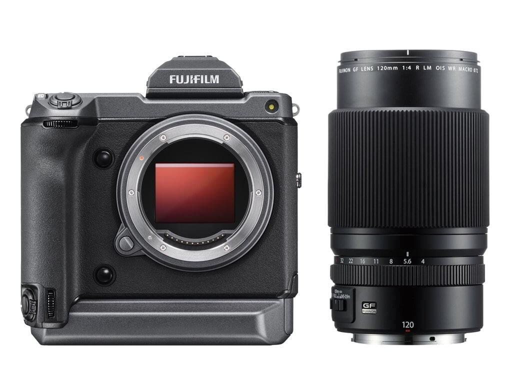 Fujifilm GFX 100 + GF 120mm 1:4 R LM OIS WR Macro