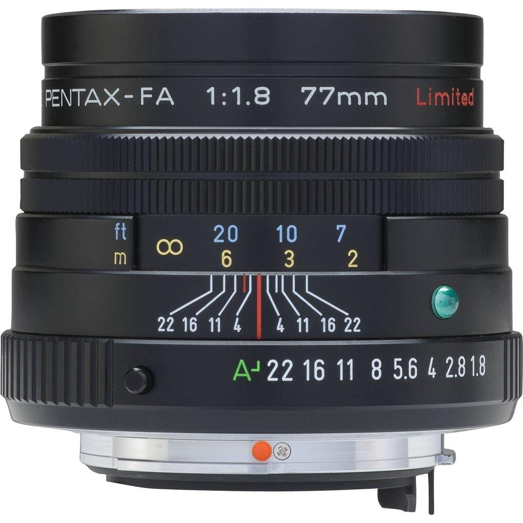 Pentax 77mm 1:1,8 SMC FA Limited schwarz