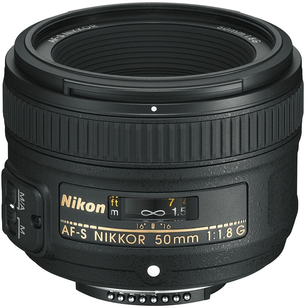 Nikon AF-S 50 mm 1:1,8 G + Nikon 5-Jahre-Garantie-Aktion