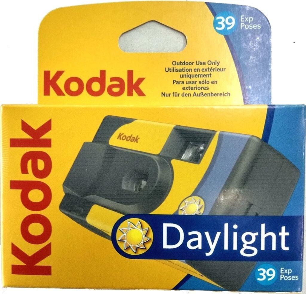 Kodak Daylight SUC 800 ASA 39 Aufnahmen Einwegkamera ohne Blitz