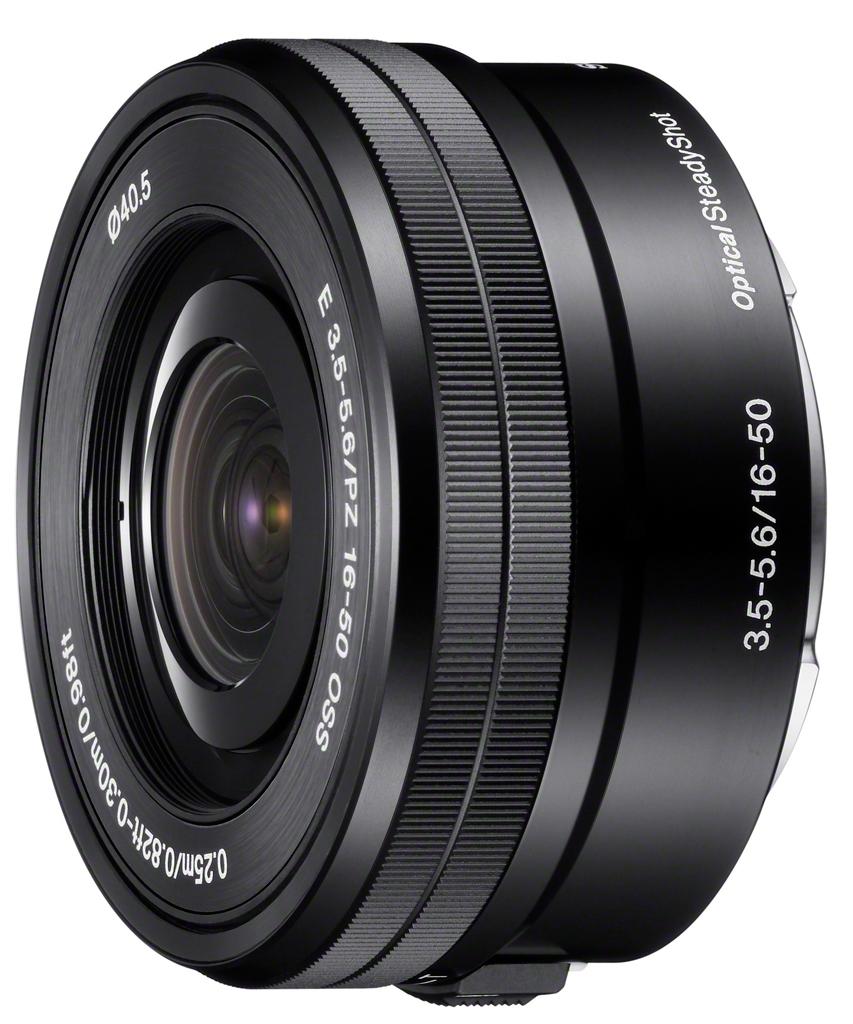 Sony SEL-P 16-50mm 1:3,5-5,6 OSS PZ (SELP1650) E-Mount schwarz aus Set