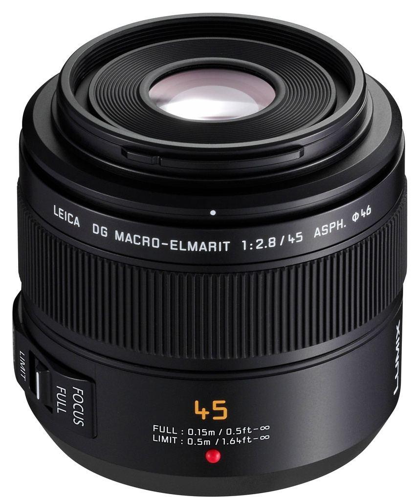 Panasonic 45mm 1:2,8 Leica DG Macro Elmarit OIS