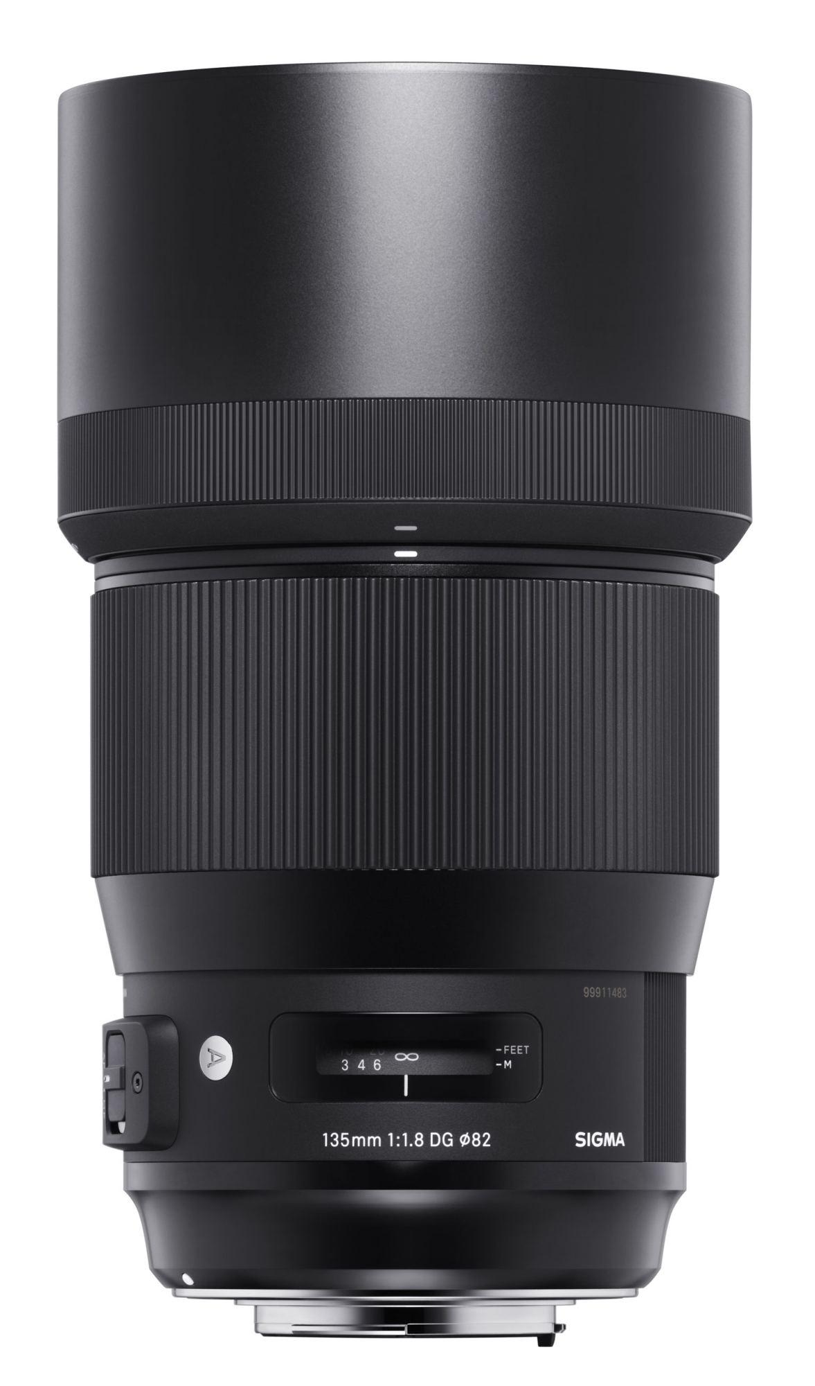 Sigma 135mm 1:1,8 DG HSM Art für Canon EF