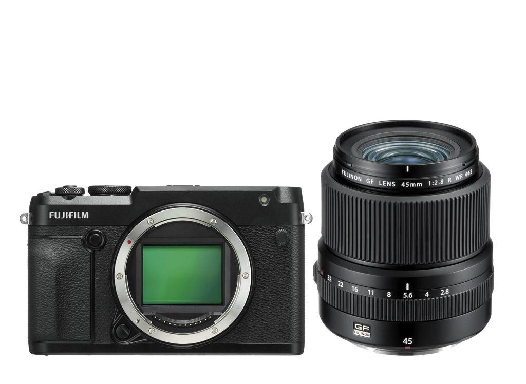 Fujifilm GFX 50R + GF 45mm 1:2.8 R WR