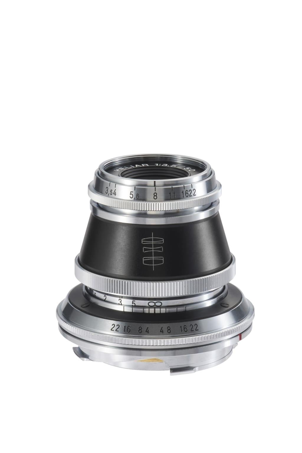 Voigtländer VM 50mm 3,5 Heliar Leica M