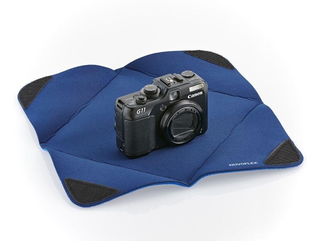 Novoflex Einschlagtuch Wrap-M blau 28x28cm