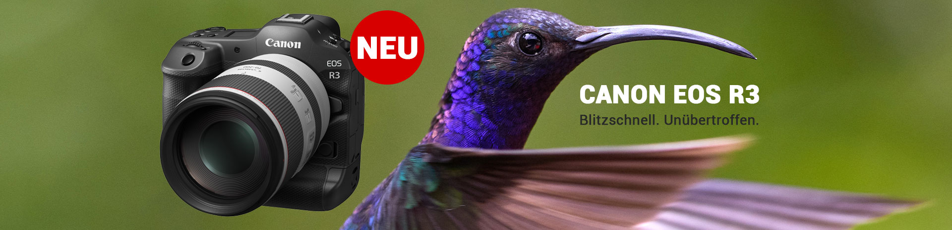 Canon EOS R3 jetzt NEU bei Fotomax in Nürnberg und Berlin