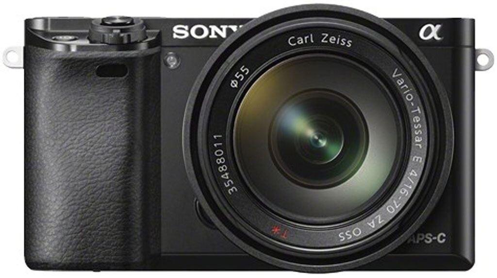 Sony alpha 6000 schwarz + SEL 16-70mm 1:4,0 ZA ZEISS Vario-Tessar T* OSS (SEL1670Z)