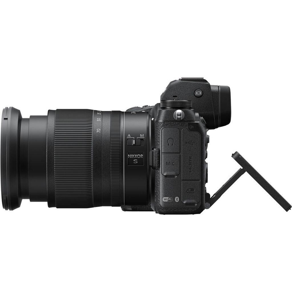 Nikon Z6 II + NIKKOR Z 24-70mm 1:4,0 S + FTZ Objektivadapter