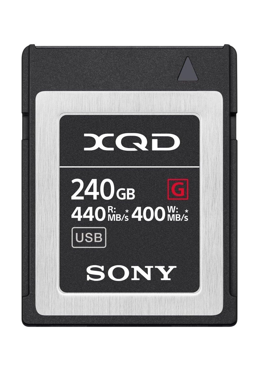SONY XQD 240 GB G-SERIE 400MB