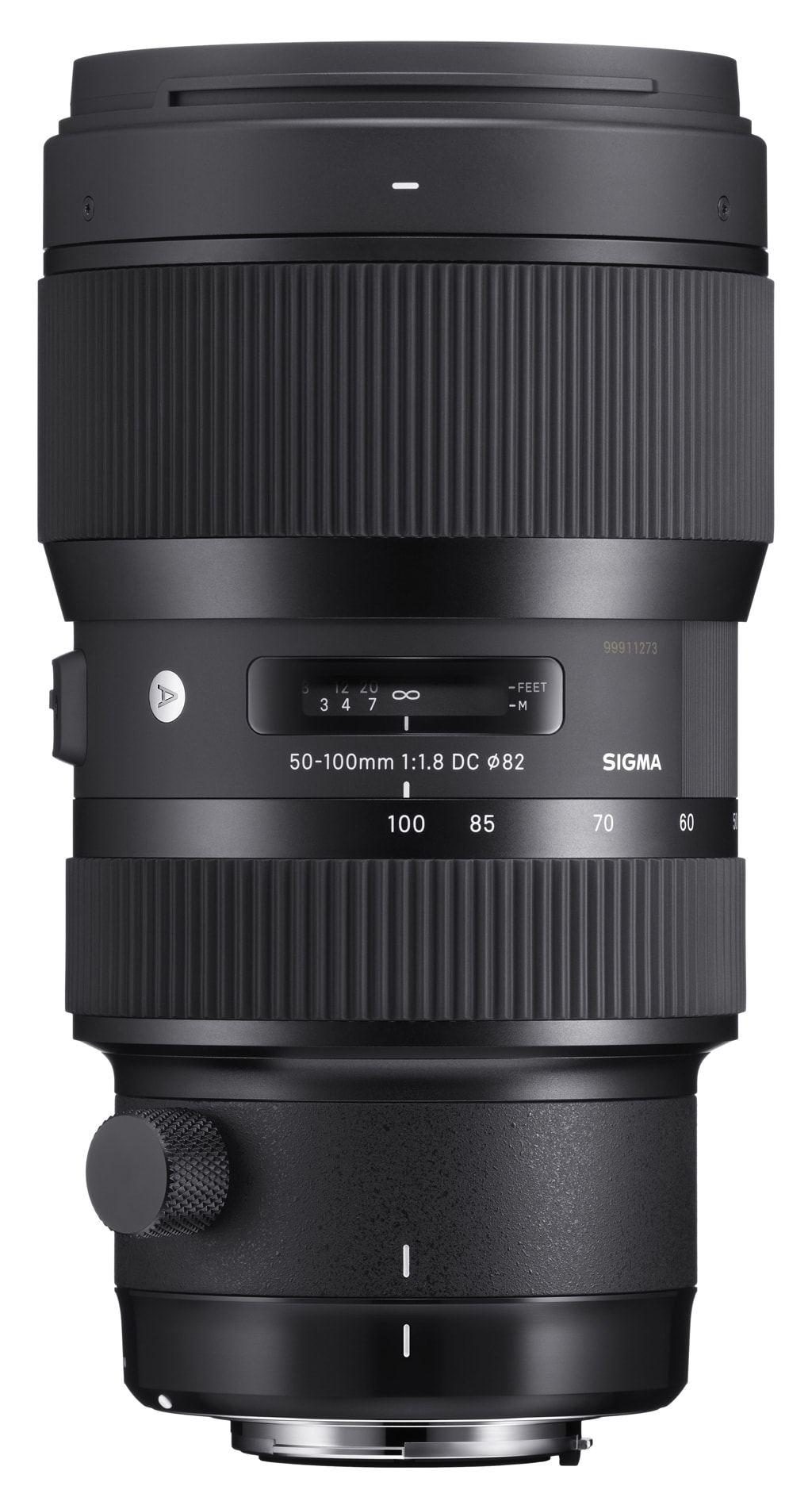 Sigma 50-100mm 1:1,8 DC HSM Art für Canon EF