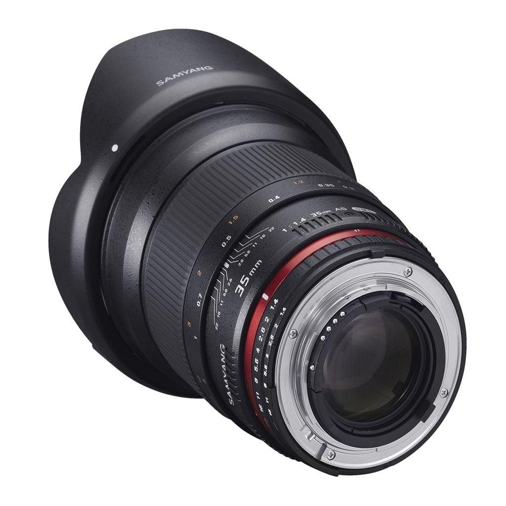 Samyang MF 35mm 1:1,4 für Sony-E