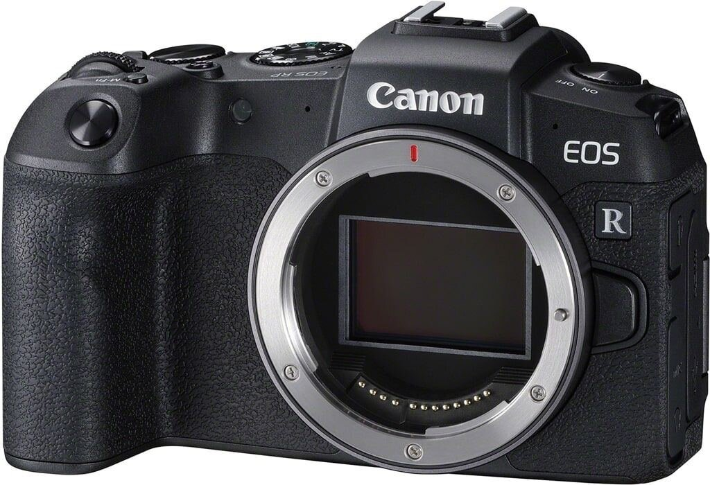 Canon EOS RP Gehäuse + Mount Adapter EF-EOS R