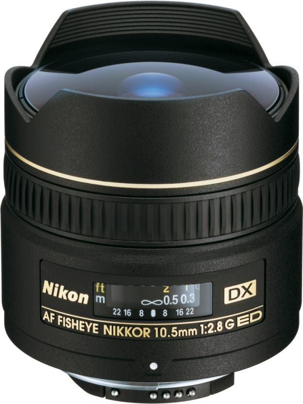 Nikon AF DX Fisheye 10,5 mm 1:2,8 G inkl. 5-Jahre Nikon Garantieverlängerung