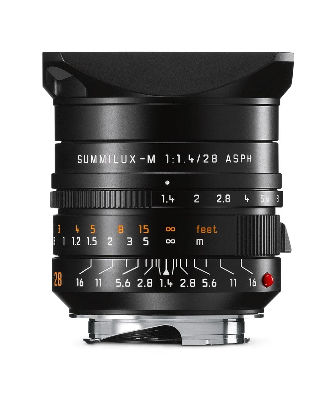 LEICA SUMMILUX-M 1.4/28 mm ASPH. schwarz eloxiert 11668