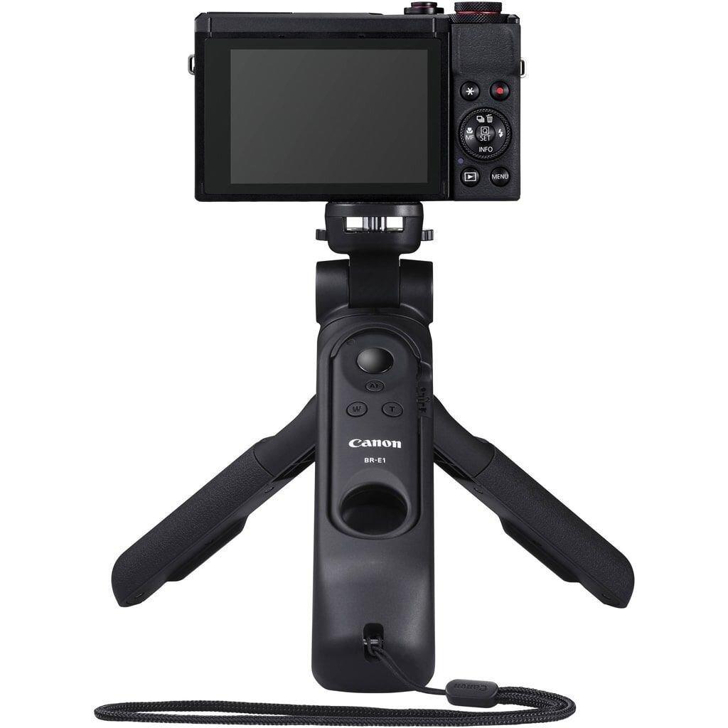 Canon PowerShot G7X Mark III schwarz VLogger Kit inkl. Canon Tripod HG-100TBR + 64GB SD Speicherkarte