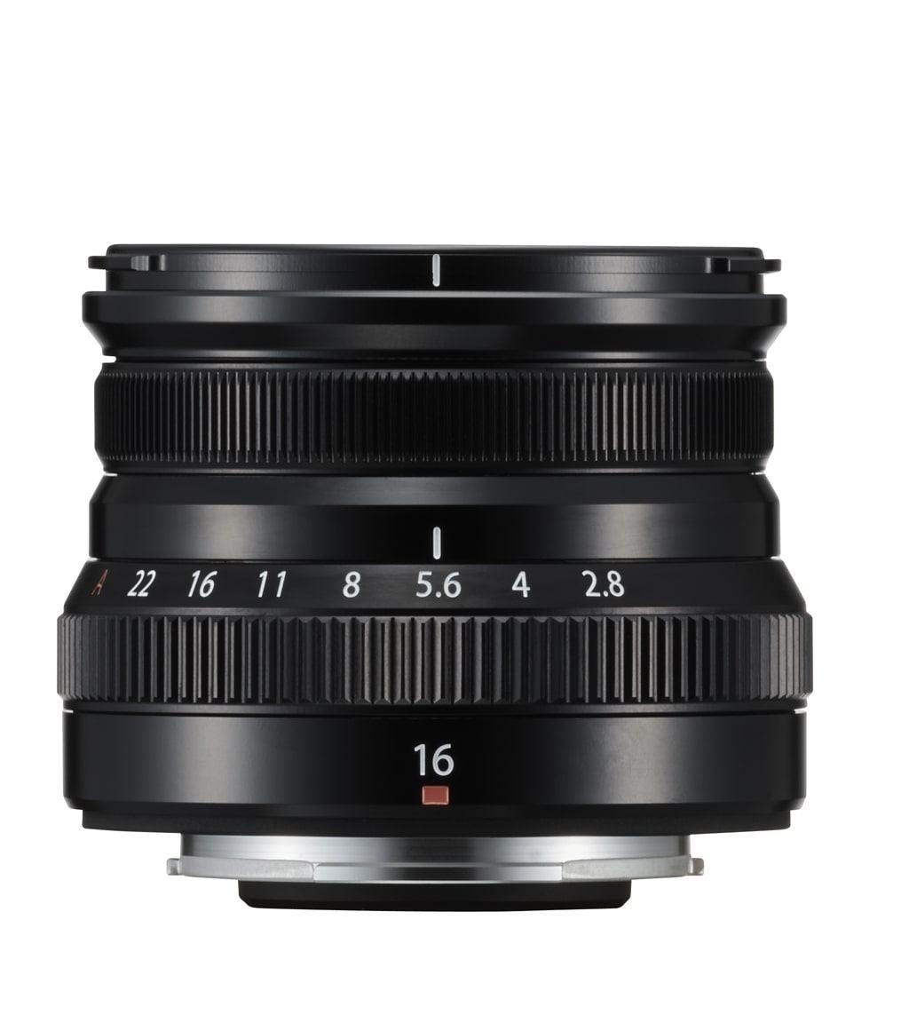 Fujifilm XF 16mm 1:2,8 R WR schwarz
