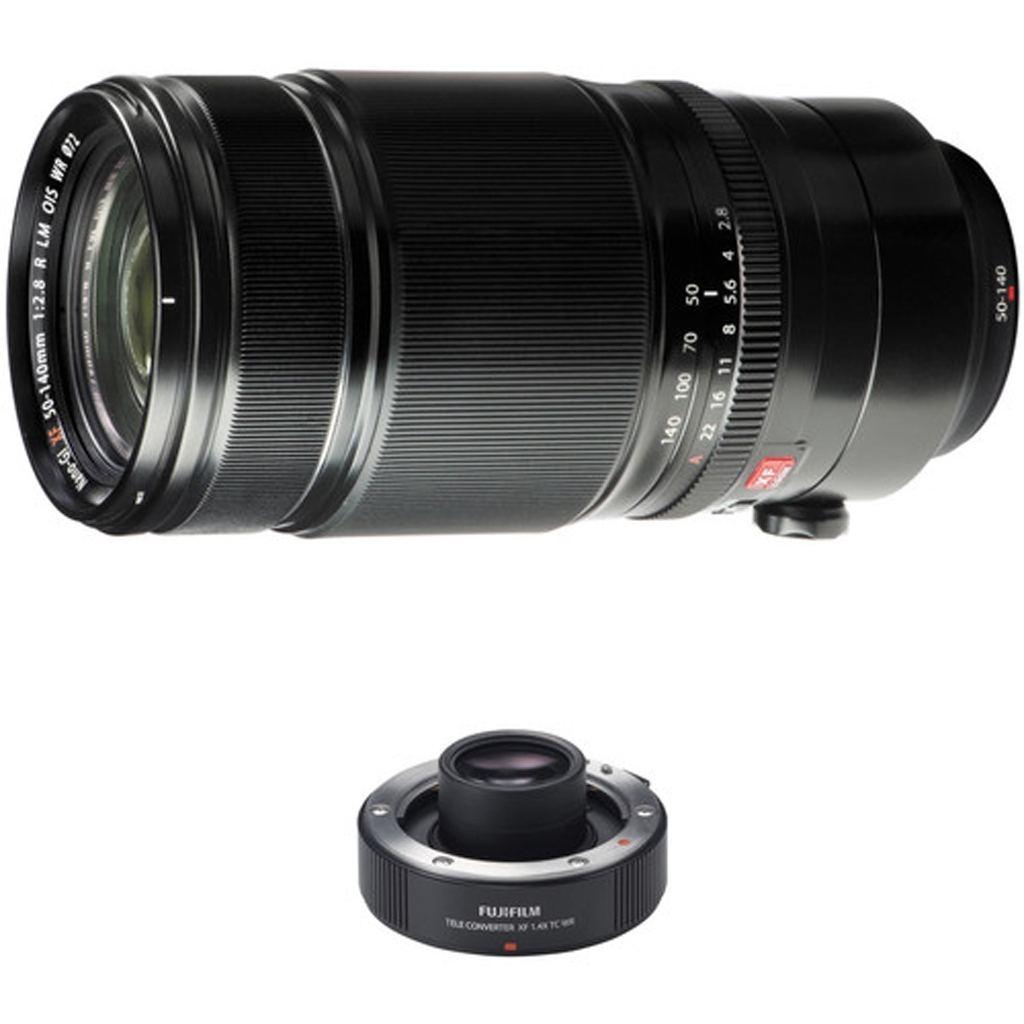 Fujifilm XF 50-140mm 1:2,8 R LM OIS WR + TC XF 1,4x Telekonverter