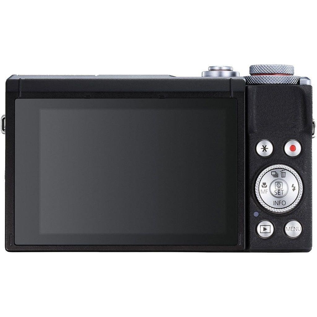 Canon PowerShot G7X Mark III silber Battery Kit + Zusatzakku