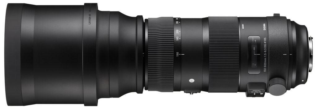 Sigma 150-600mm 1:5-6,3 DG OS HSM Sports Serie für Nikon