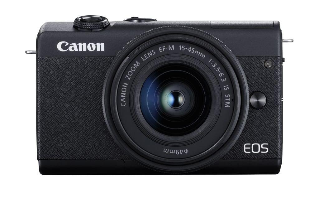 Canon EOS M200 schwarz inkl. EF-M 15-45mm 3,5-6,3 IS STM