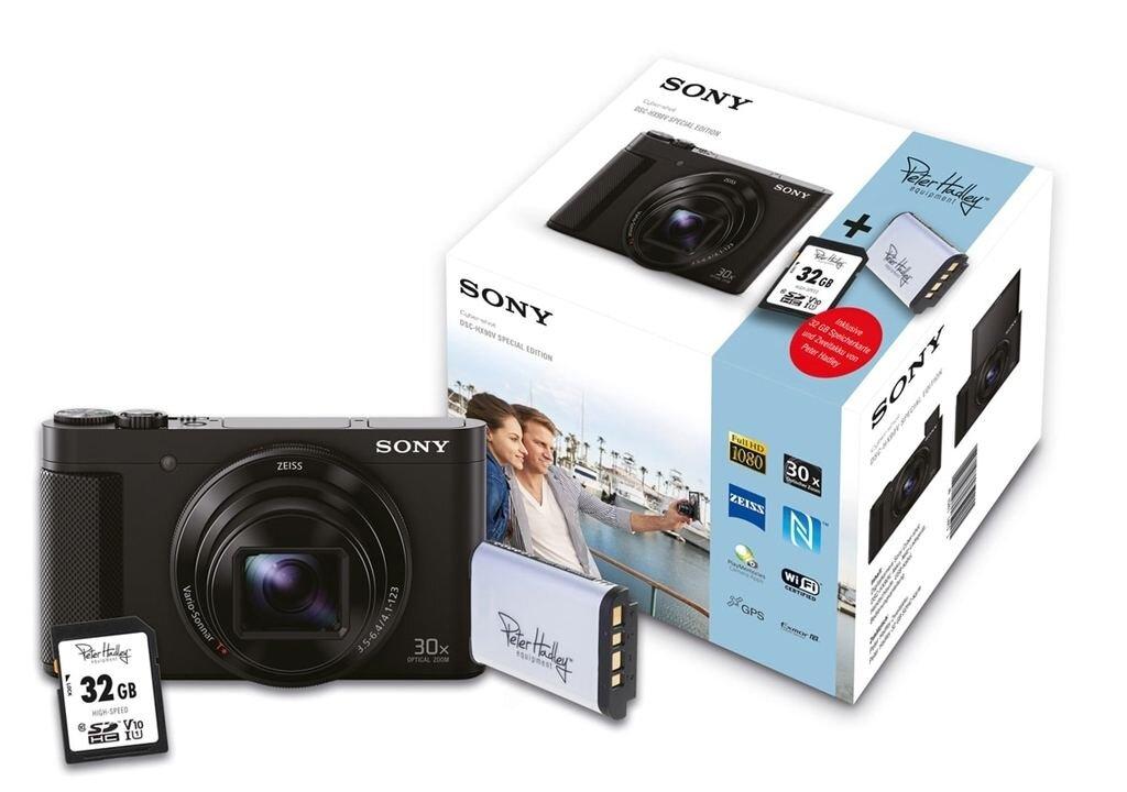 Sony DSC-HX90V Special Edition inkl. Ersatzakku + 32GB Speicherkarte