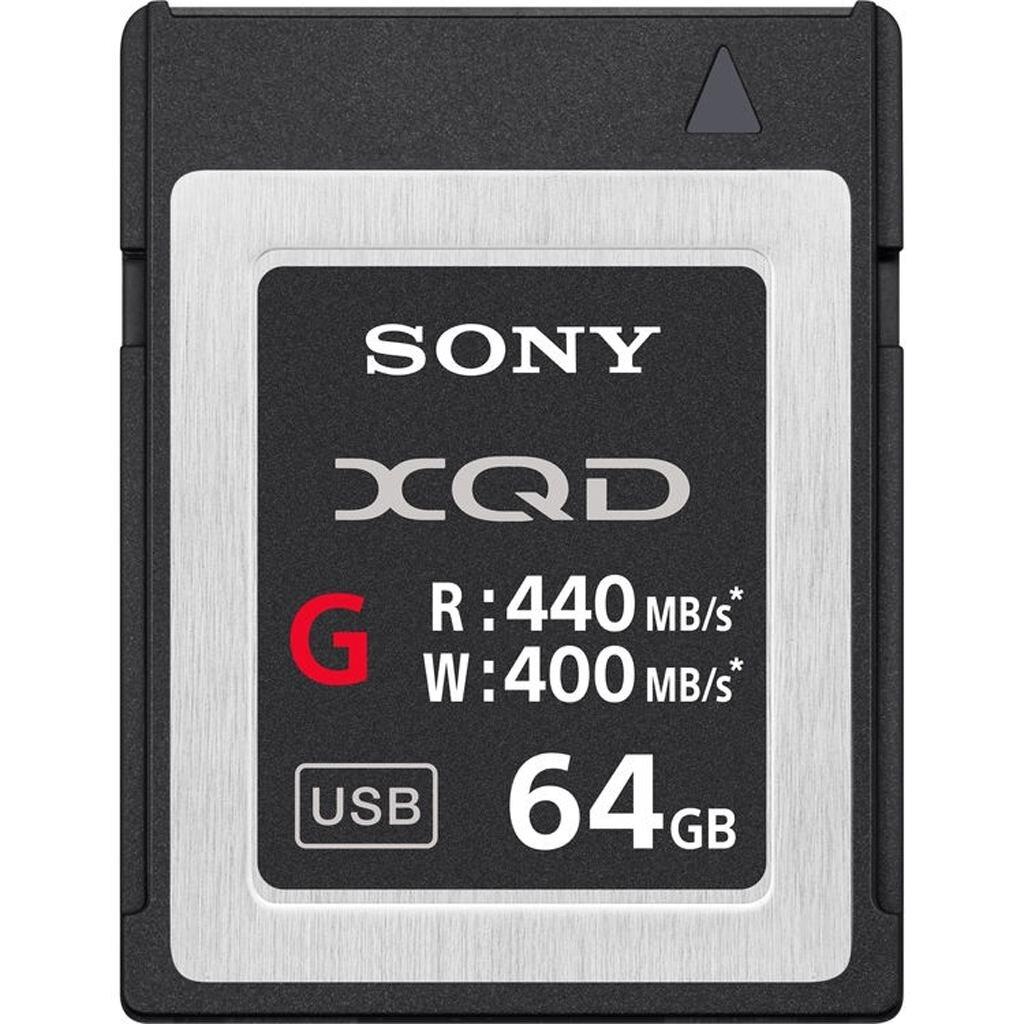 Sony XQD 64GB G-Serie (400/440MB/s) Speicherkarte