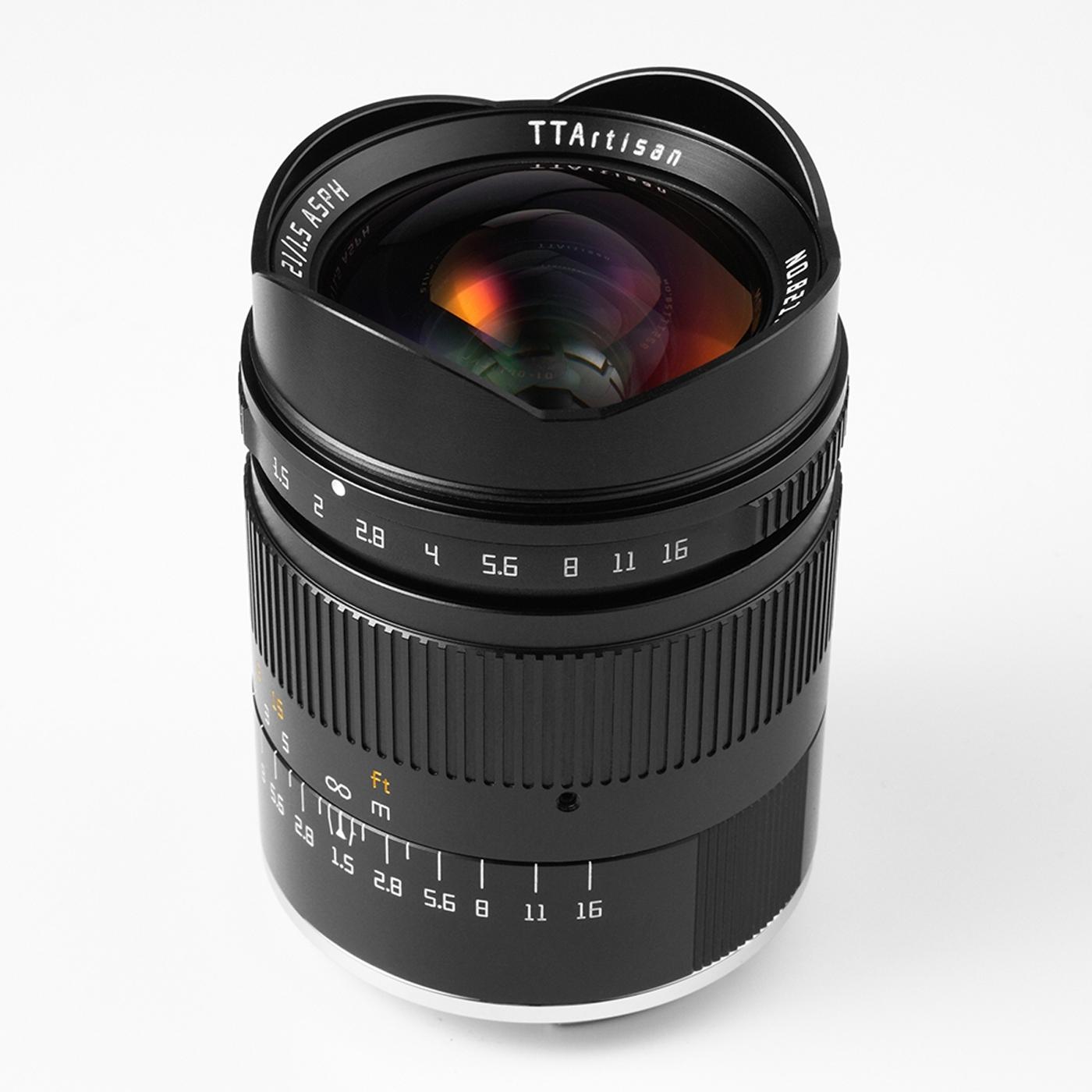TTArtisan 21mm 1:1,5 für Sony FE