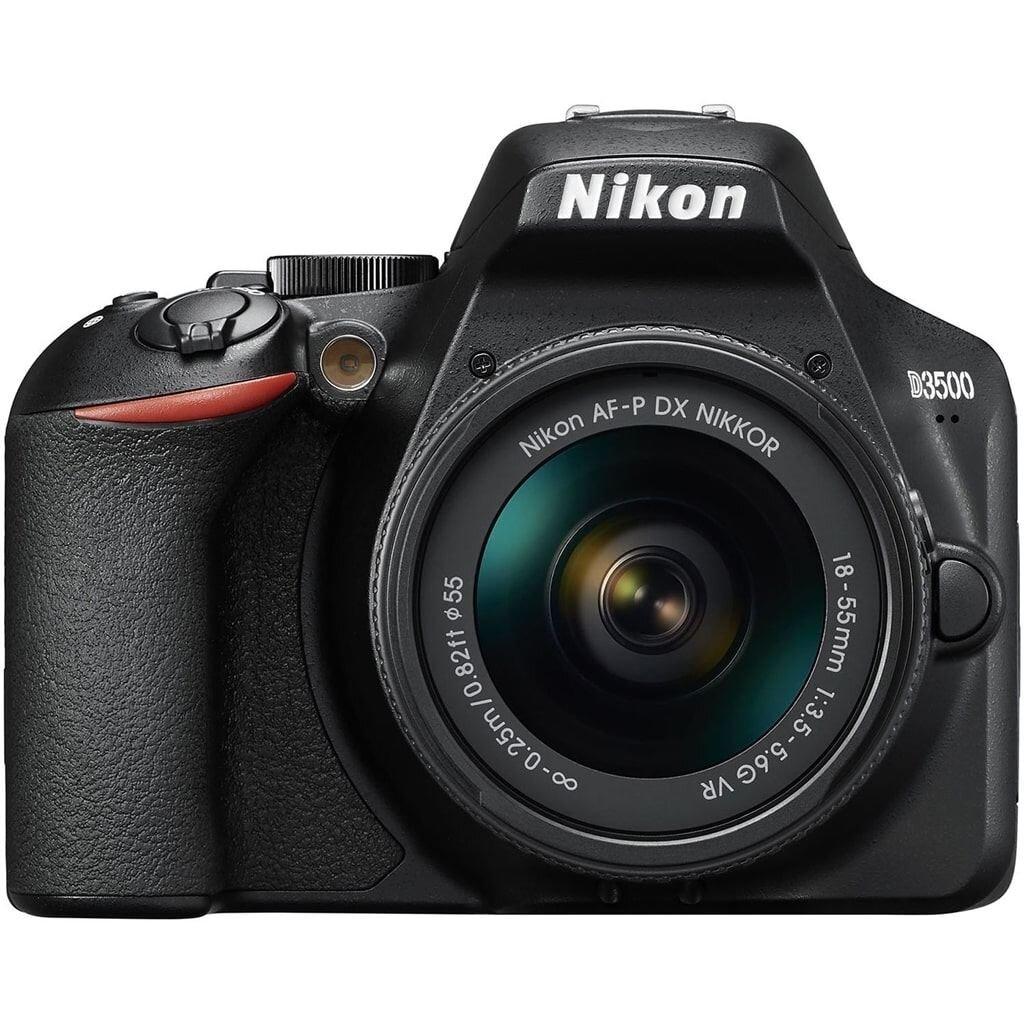 Nikon D3500 schwarz inkl. AF-P DX 18-55mm 1:3,5-5,6 G VR