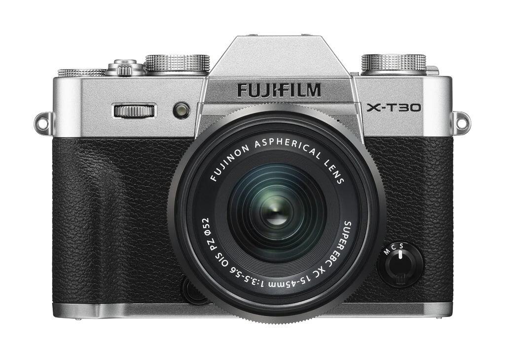 Fujifilm X-T30 silber inkl. XC 15-45mm 1:3,5-5,6 OIS PZ