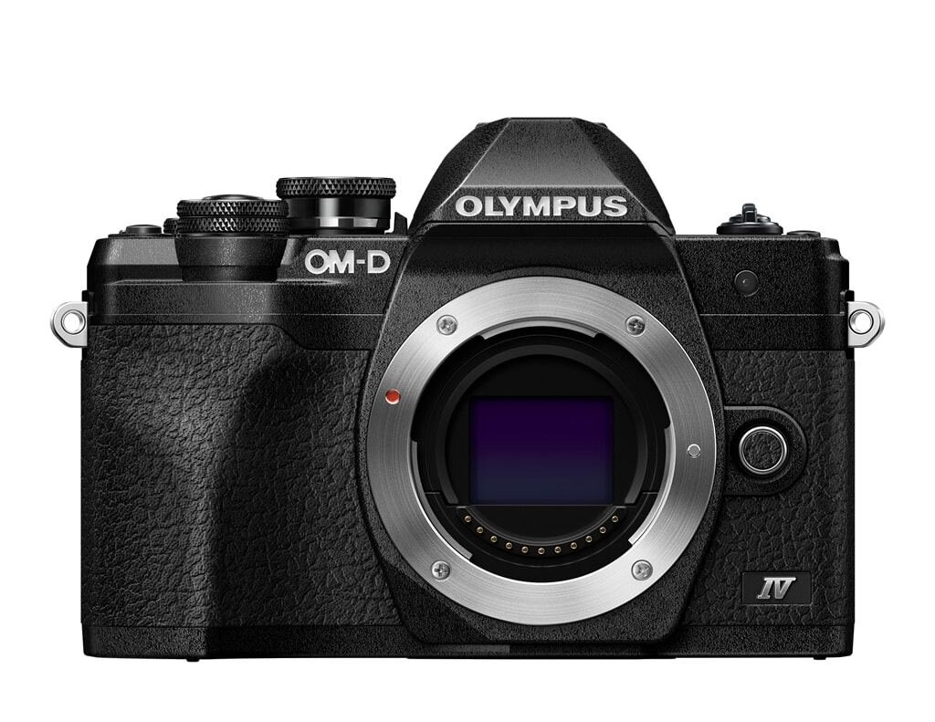Olympus OM-D E-M10 Mark IV schwarz Gehäuse