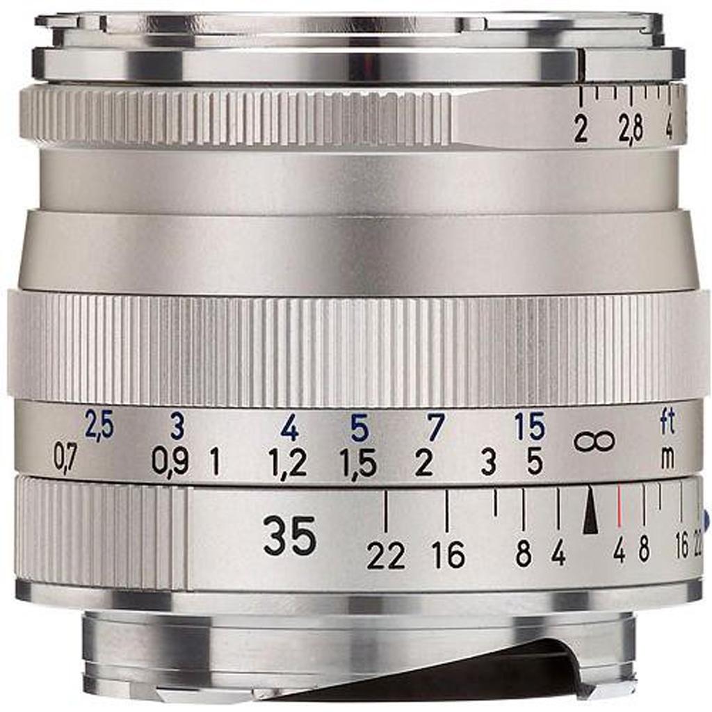 ZEISS Biogon T* 35mm 1:2,0 ZM f. Leica M silber
