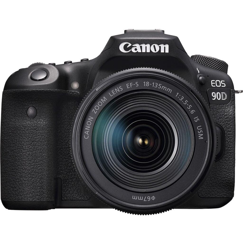 Canon EOS 90D + EF-S 18-135mm 1:3.5-5.6 IS USM *Gutscheinaktion* 100€ Rabatt mit Gutscheincode: EOS100