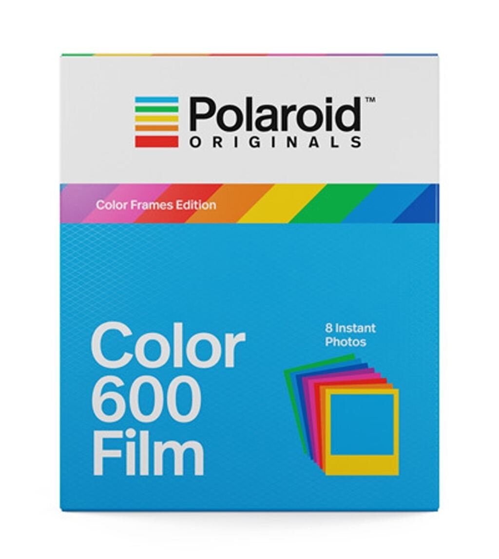 Polaroid Sofortbildfilm 600 verschiedene farbige Rahmen