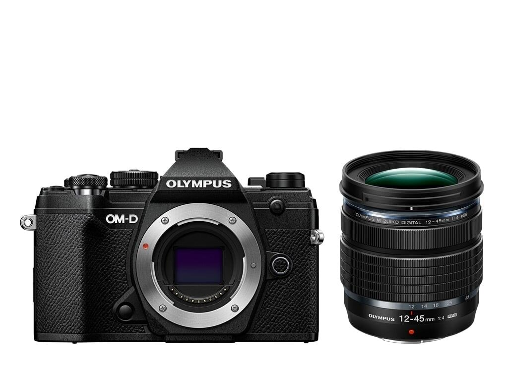 Olympus OM-D E-M5 Mark III schwarz + M.Zuiko Digital ED 12-45mm 1:4,0 PRO