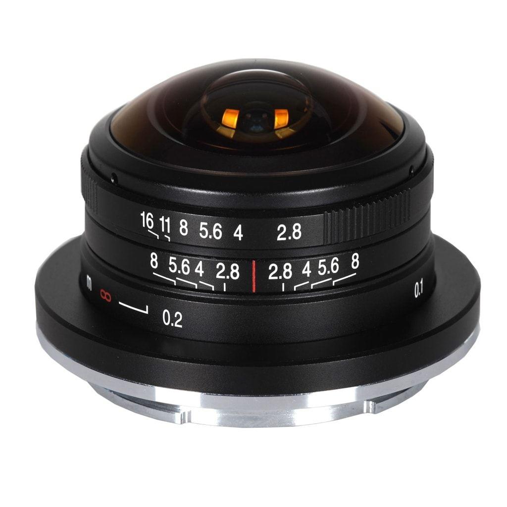 LAOWA 4mm 1:2,8 Circular Fisheye für Sony E