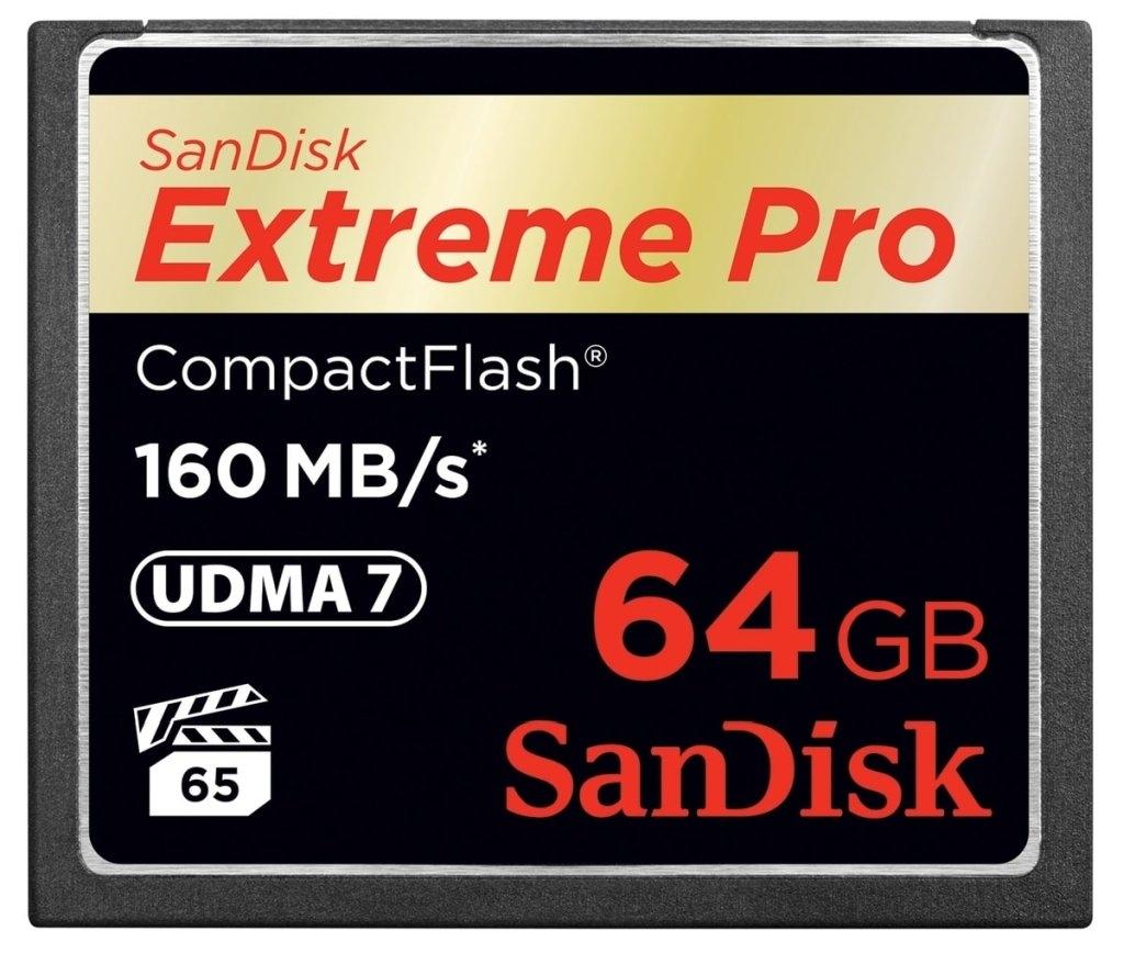 SanDisk CF Speicherkarte Extreme Pro 64GB 160MB/sec