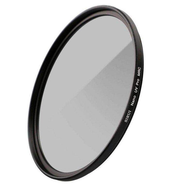 SIRUI UV62A UV-Filter Ultra Slim S-Pro Nano MC 62mm Aluminium schwarz, Glas