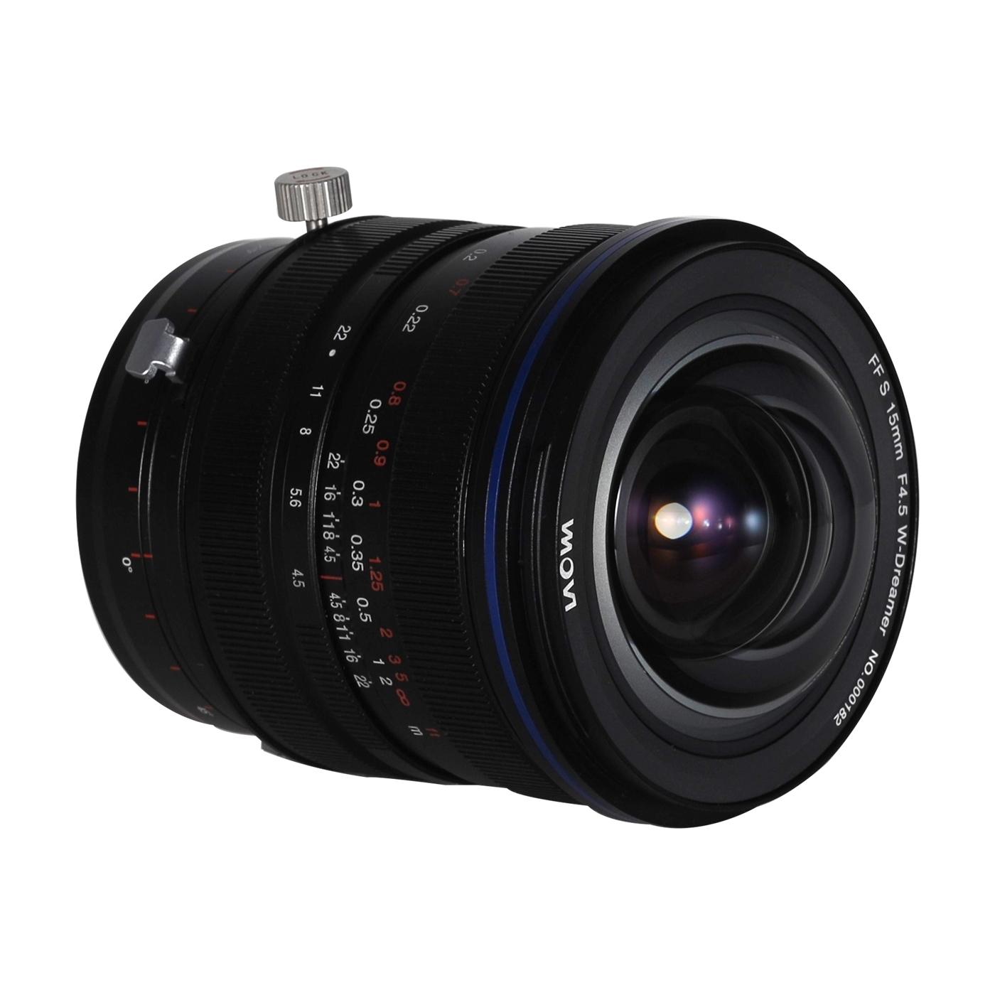 LAOWA 15mm f/4,5 Zero-D Shift für Pentax K